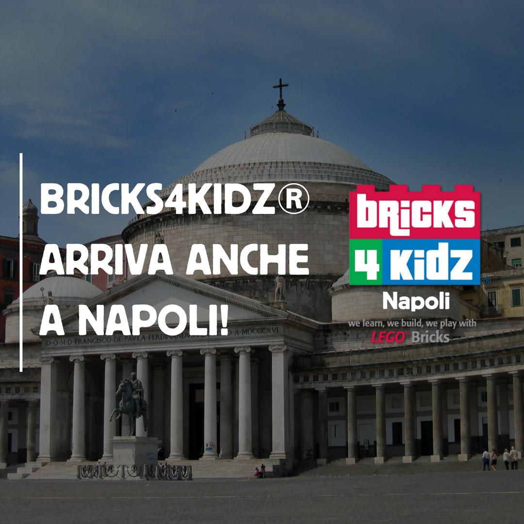 Bricks4Kidz® Arriva Anche A Napoli!