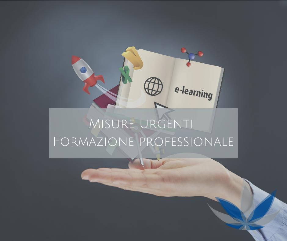 Misure Urgenti – Formazione Professionale Autofinanziata